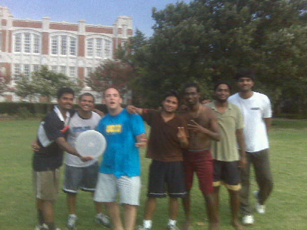 my indian frisbee team in oklahoma are straight thugs